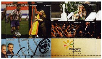 n° 3209 - Timbre PARAGUAY Poste