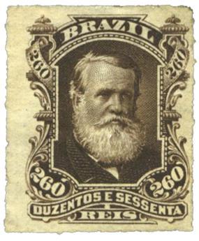 n°43* - Timbre Brésil Poste