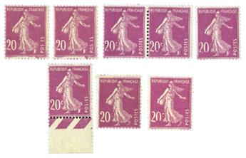 n°190** - Timbre France Poste