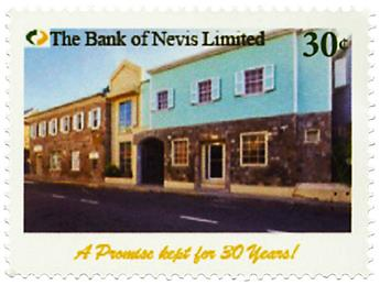 n° 2573 - Timbre NEVIS Poste
