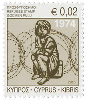 n° 1351 - Timbre CHYPRE Poste