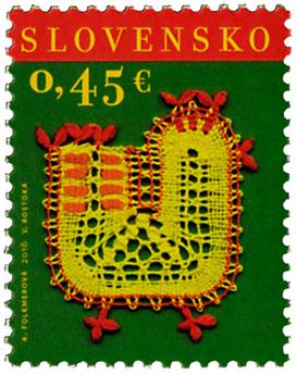 n° 684 - Timbre SLOVAQUIE Poste