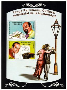 n° 108 - Timbre URUGUAY Blocs et feuillets