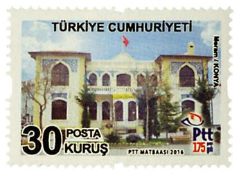n° 3776 - Timbre TURQUIE Poste