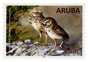 n° 897 - Timbre ARUBA Poste