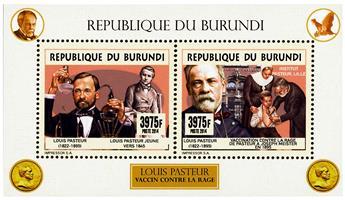 n° 2351 - Timbre BURUNDI Poste
