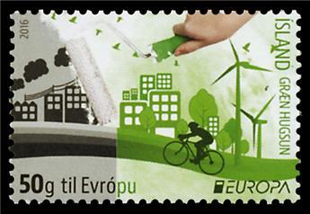 n° 1420/1421 - Timbre ISLANDE Poste (EUROPA)