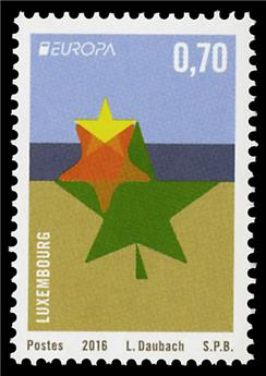 n° 2034 - Timbre LUXEMBOURG Poste (EUROPA)
