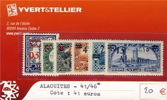 ALAOUITES - n° 41/46*