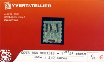 COTE DES SOMALIS - n° 1(*)