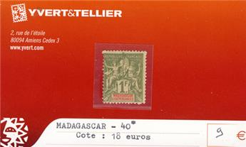MADAGASCAR - n° 40*