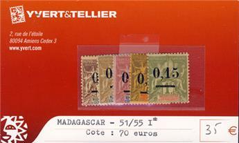 MADAGASCAR - n° 51/55 I*