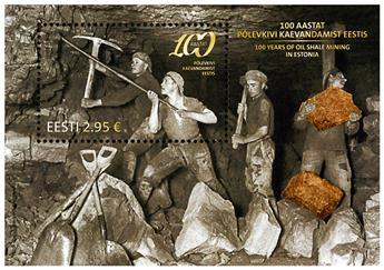 n° 40 - Timbre ESTONIE Blocs et feuillets