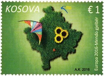 n° 209 - Timbre KOSOVO Poste