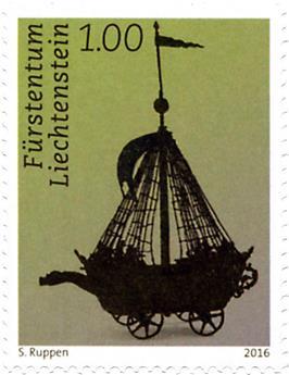 n° 1743 - Timbre LIECHTENSTEIN Poste