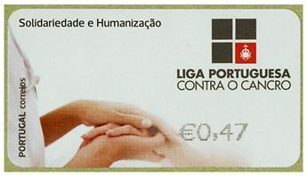 n° 214 - Timbre PORTUGAL Timbres de distributeurs