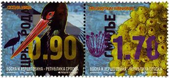 n° 631 - Timbre REPUBLIQUE SERBE (DE BOSNIE) Poste