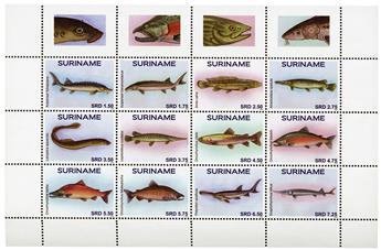 n° 2588 - Timbre SURINAME Poste