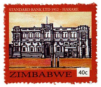 n° 788 - Timbre ZIMBABWE Poste
