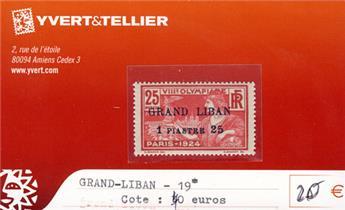 GRAND LIBAN - n° 19*