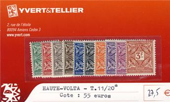HAUTE-VOLTA - Taxe n° 11/20*