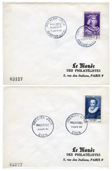 n°1027/1032 obl. - Timbre France Poste