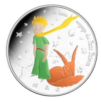 50 EUROS ARGENT - FRANCE 2016 - LE PETIT PRINCE - VAGUE 2 (LE RENARD)