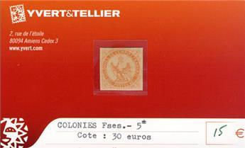 COLONIES FRANCAISES - n° 5*