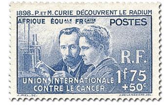 Grande Série Coloniale : Pierre et Marie Curie (1938)