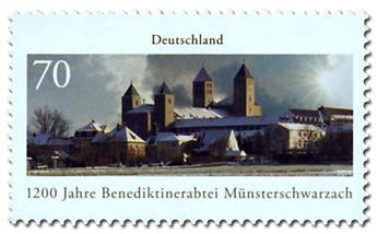 n° 3054 - Timbre ALLEMAGNE FEDERALE Poste