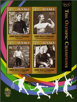 n° 1863 - Timbre TUVALU Poste