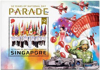 n° 183 - Timbre SINGAPOUR Blocs et feuillets