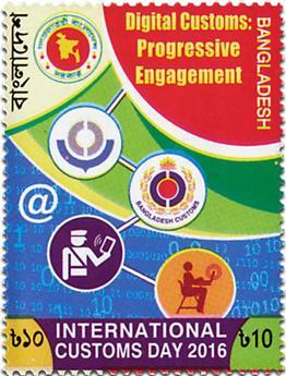 n° 1030 - Timbre BANGLADESH Poste