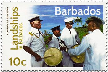 n° 1308 - Timbre BARBADE Poste