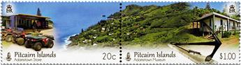 n° 879 - Timbre PITCAIRN Poste