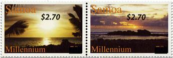 n° 1196/1201 - Timbre SAMOA Poste