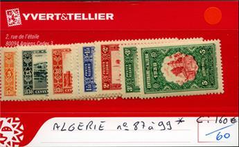 ALGERIE - n° 87/99*