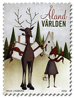 n° 430 - Timbre ALAND Poste