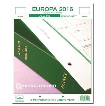 EUROPA FE : 2016 (jeux sans pochettes)
