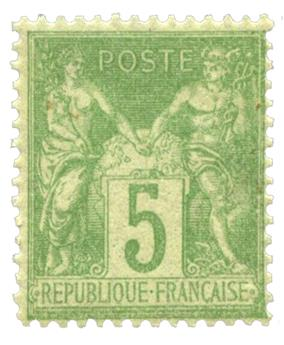 n°102** - Timbre France Poste