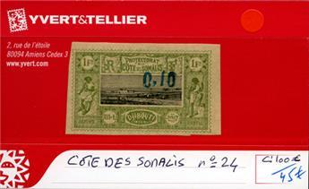 COTE DES SOMALIS - n° 24
