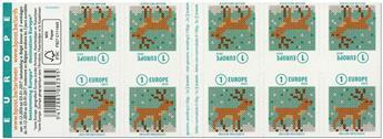 n° C4624 - Timbre BELGIQUE Carnets