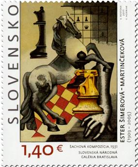 n° 701 - Timbre SLOVAQUIE Poste