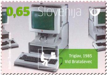 n° 1026 - Timbre SLOVENIE Poste