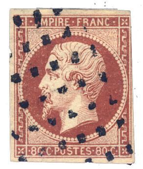 France : n°17Ad obl. B/TB