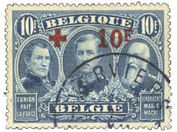 Belgique : n°163 obl.