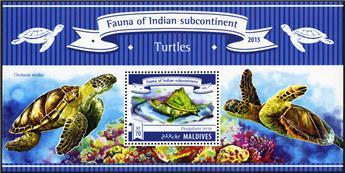 n° 770 - Timbre MALDIVES Blocs et feuillets