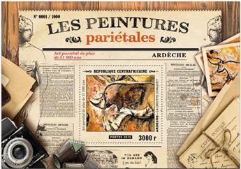 n° 872 - Timbre CENTRAFRICAINE Blocs et feuillets