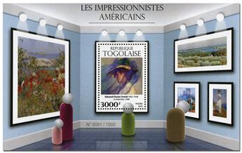 n° 1086 - Timbre TOGO  Blocs et feuillets