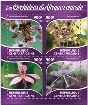 n° 3773 - Timbre CENTRAFRICAINE Poste